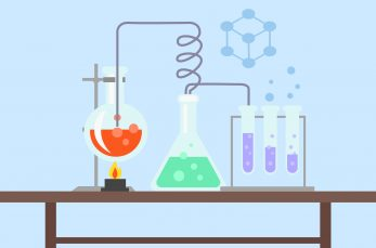 石灰石が塩酸に溶けると気体が発生~化学反応式より物質の名前に注意!